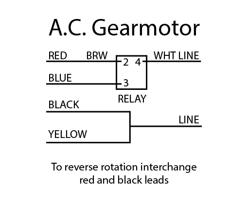 bison gear motor wiring diagram