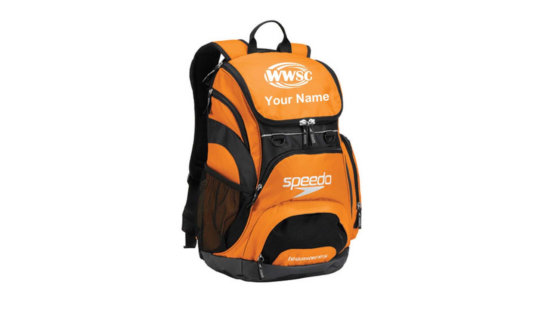 23 Speedo Teamster Backpack 35l Embroidered