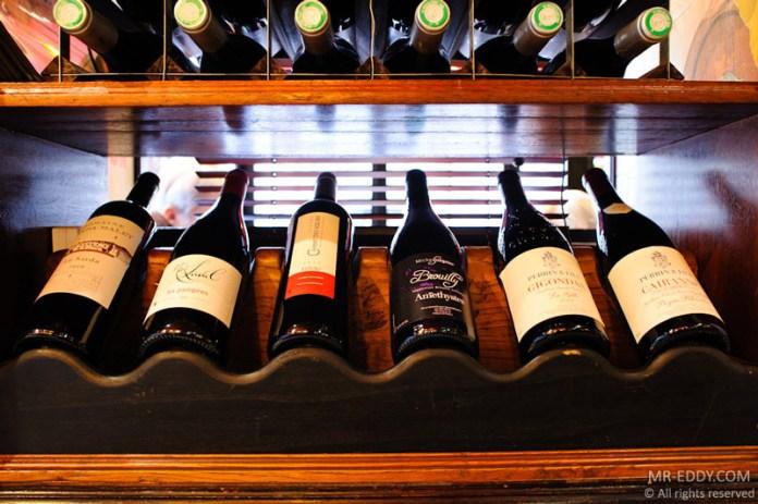 Une partie de notre sélection de vins