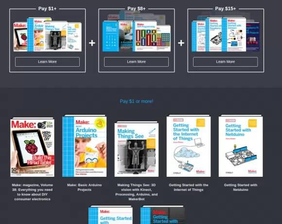 Humble Book Bundle: Arduino & Raspberry Pi