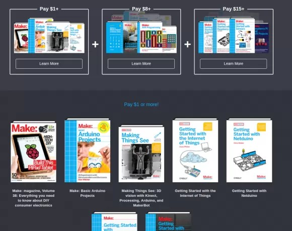 Humble Book Bundle: Arduino & Raspberry Pi