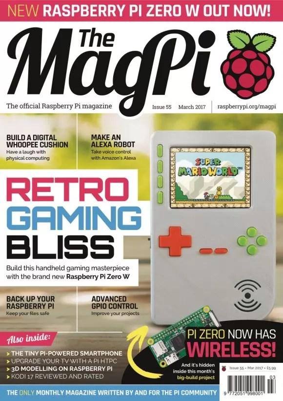 MagPi 55 (Quelle: raspberrypi.org)