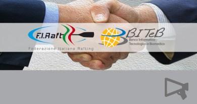 BITeB accordo con la Federazione Italiana Rafting