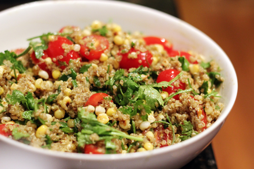 summer quinoa salad 5