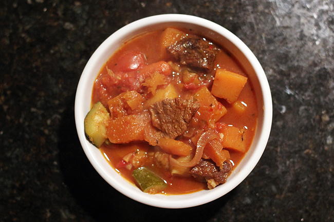 Moroccan Beef Stew - bites out of life
