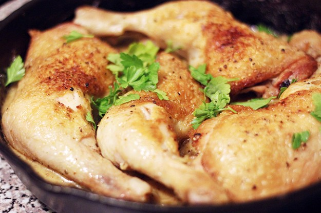 Roast Chicken with Dijon Sauce - bites out of life