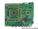 Questi sono i componenti elettronici della Xbox One S, sono tanti, fate riferimento al riquadro poco più in basso per conoscerli meglio.