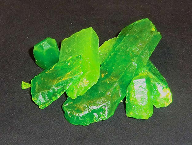 Diy Kryptonite Candy Destroy Superman From Your Kitchen
