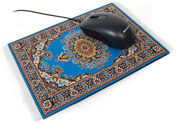 Mouserugs: Fancy Mouse Carpets To Replace Boring Mouse