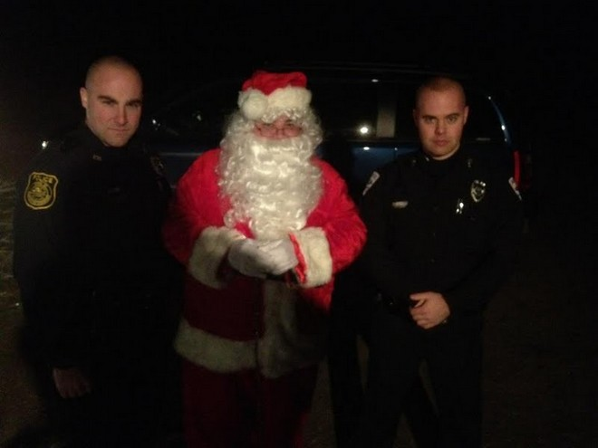 Santa in custody