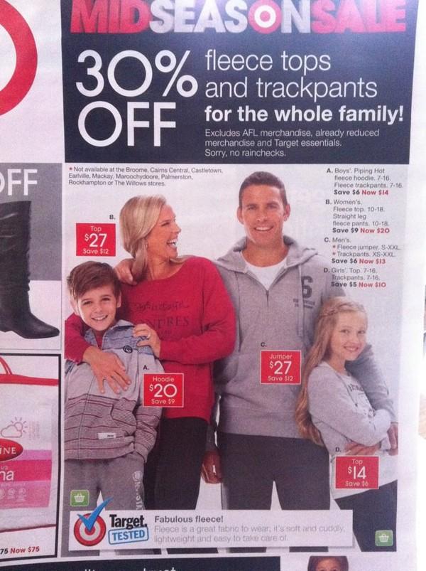 Target photoshop fail