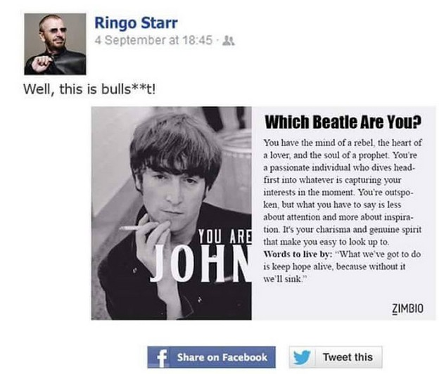 Which Beatle are you