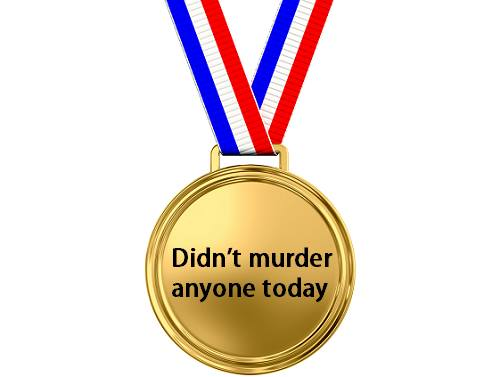 My award for the day
