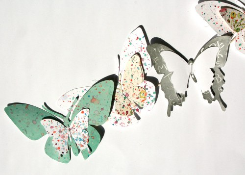Crafting with Kids: Butterfly Garland