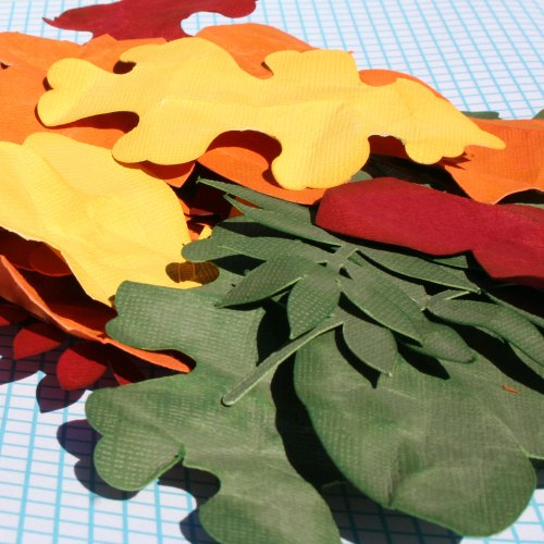 Making Realistic Paper Leaves