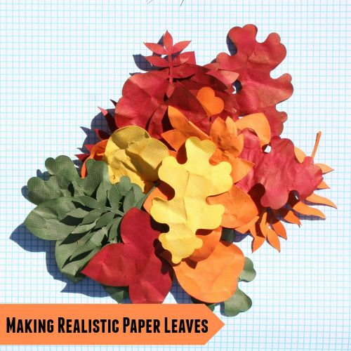 Making Realistic Paper Leaves Tutorial