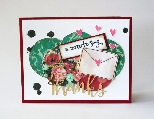 Die Cut Card