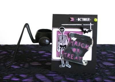 Spooky ideas to distress your die cuts
