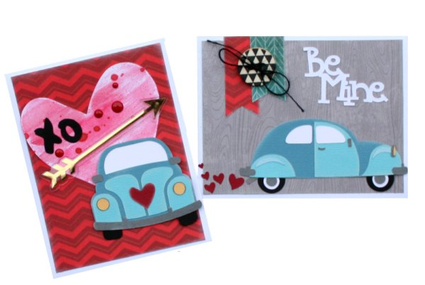 Love Bug Valentine SVG files