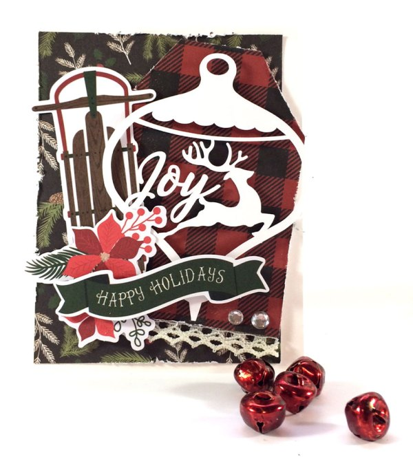 Ornament Scene Card with MME Comfort and Joy Collection