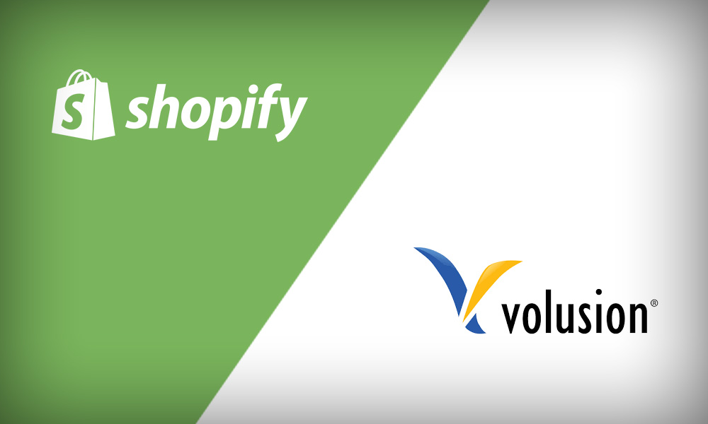 Shopify vs Volusion - Which is a Better Option? - volusion