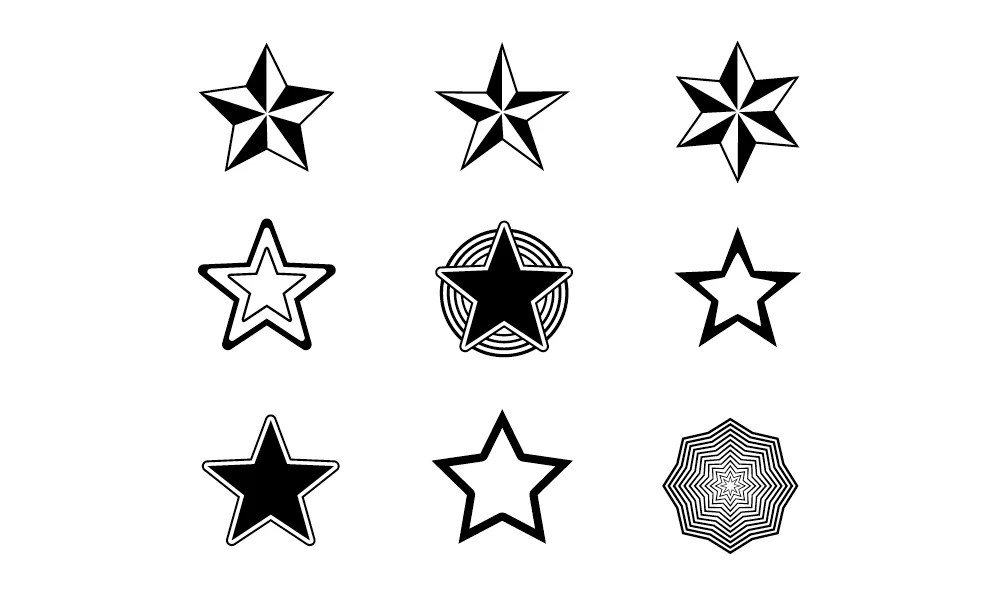 Random Free Vectors - Part 13 Stars - Bittbox