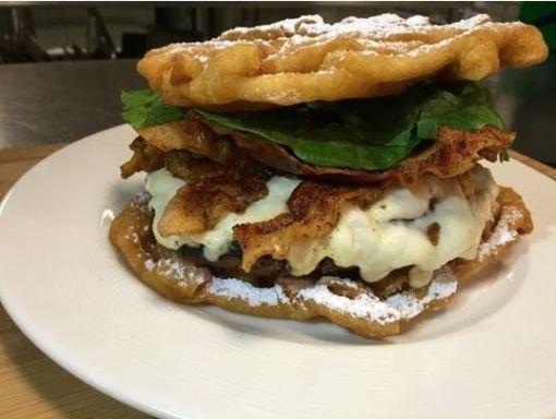 funnel burger