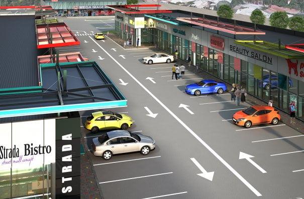 Doi israelieni vor să construiască un strip-mall la Brașov