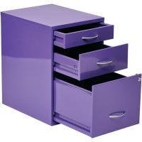 Office Star Products OSP Designs 3-Drawer Storage Cabinet ...