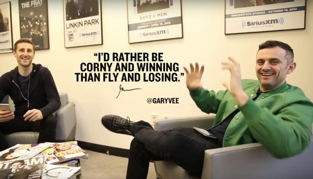 Gary Vaynerchuk is Right: I'd Rather be Corny and Winning (Rant)