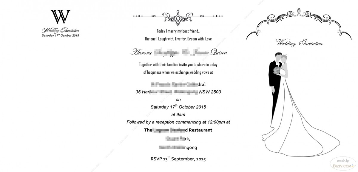 free wedding invitation templates-Biziv promotional products - free invitation layouts