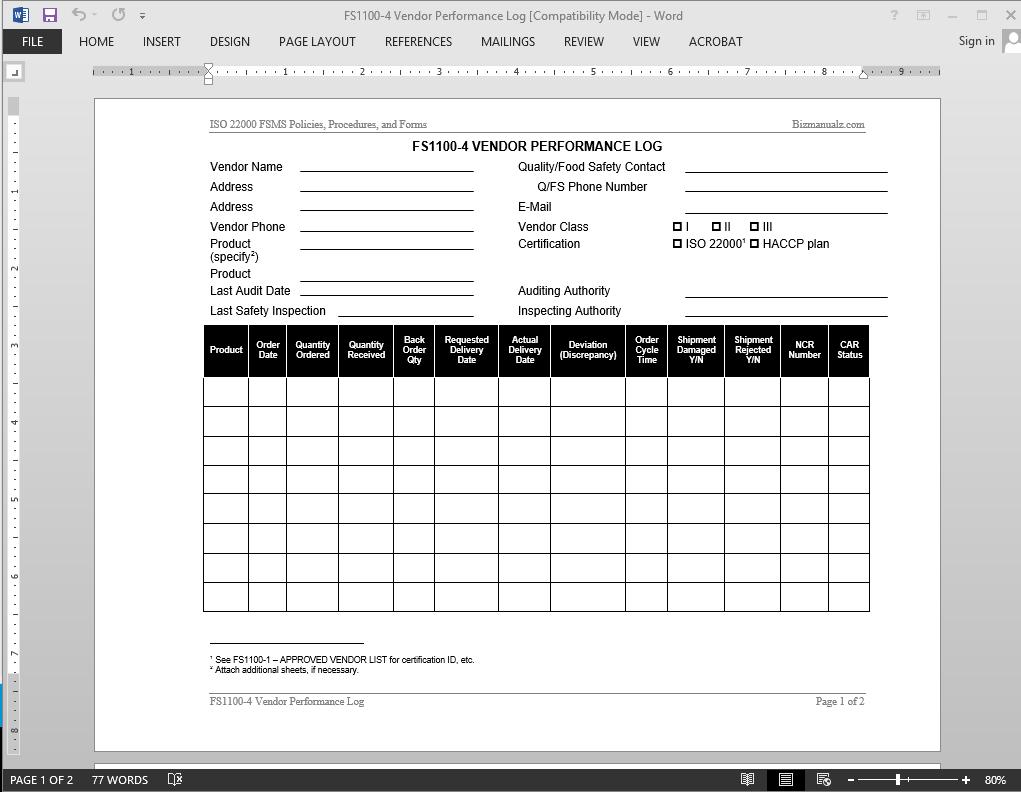 100 Rfp Scoring Matrix Template Risk Analysis Free