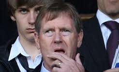 Dave King: This is a classic pic from the UK's Daily Mail, captured when the former Rangers director was watching the football club he never stopped supporting, financially and emotionally.