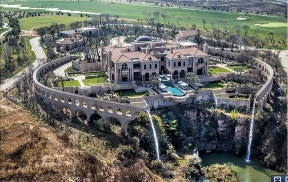 Palazzo Steyn: At $25m, the most expensive house in South Africa