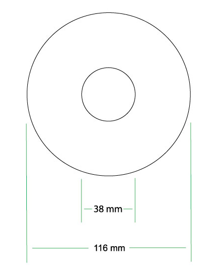 CD Printing Templates - cd label templates