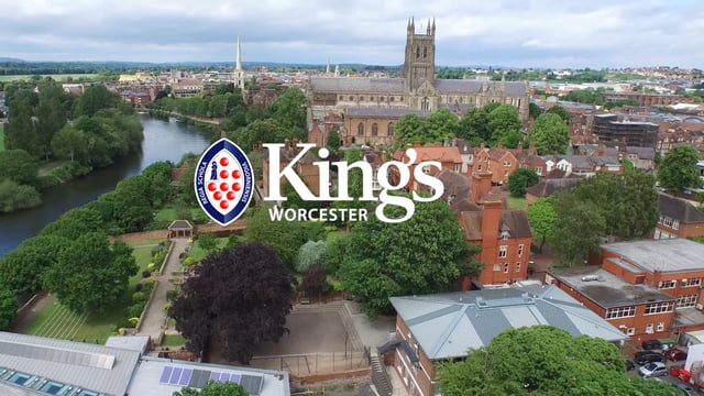 King's Worcester promotional advert