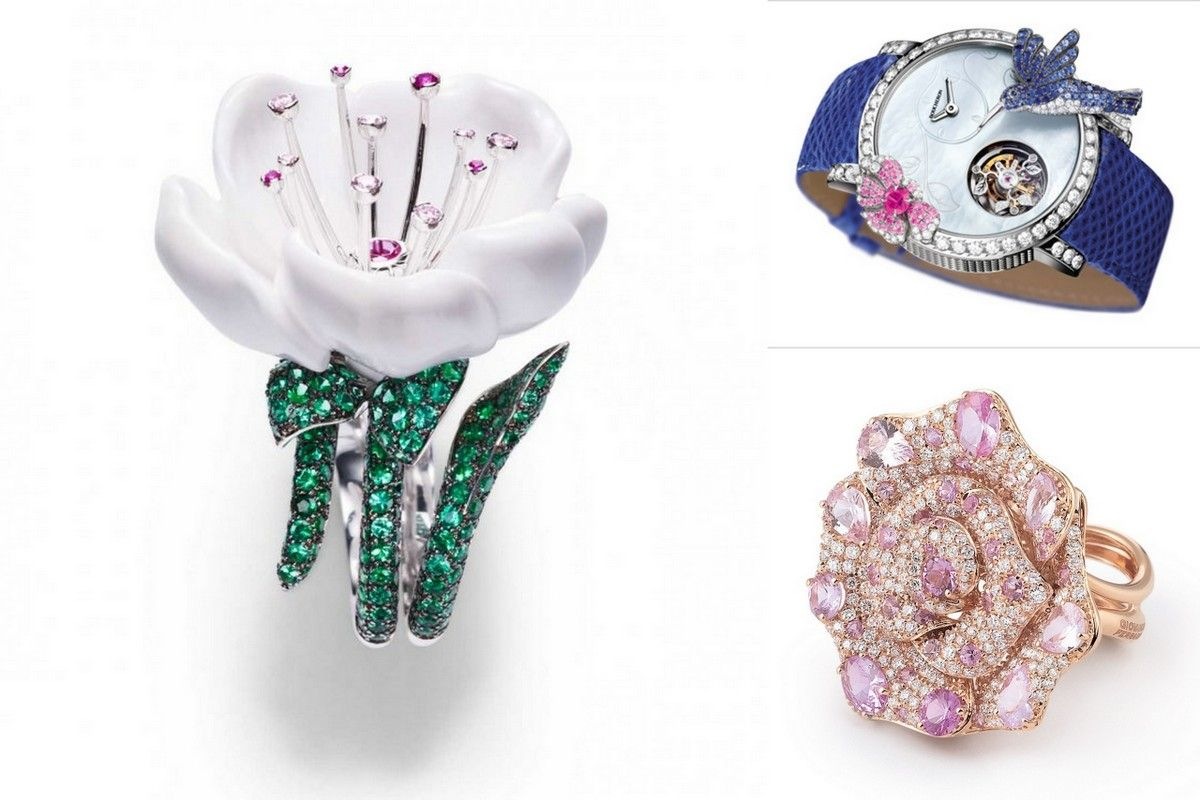 Magnificent Flower Jewelry Pick Your Favorite Ring Or Brooch