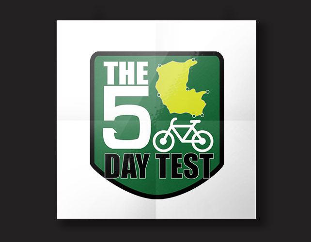 The Five Day Test BJ Creative Stamford Logo Design