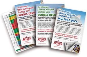 Blackjack Basic Strategy Cards
