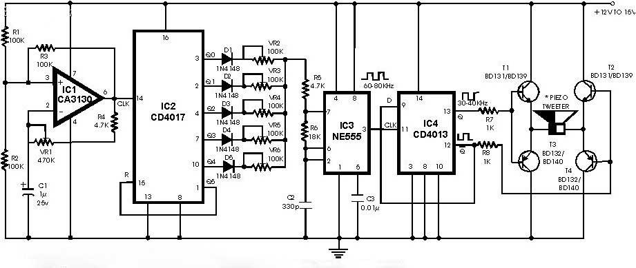 you need to know about ultrasonic generator circuit schematic