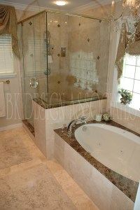 Master Bathroom Showers | Interior Design Ideas