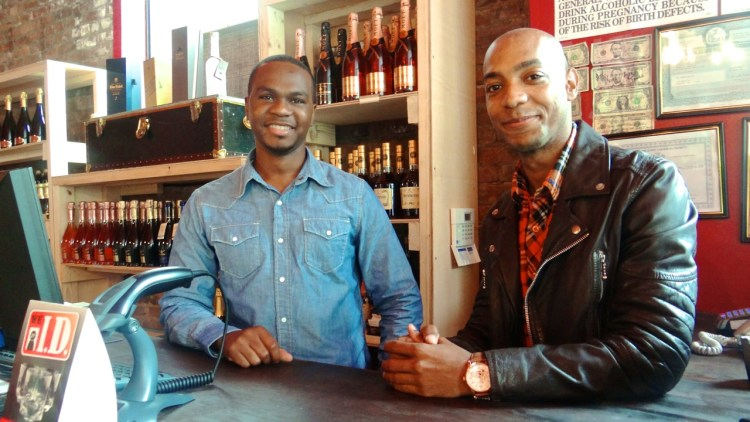 Ryan Granville and James Lewis opened J&R Symposium Wine & Spirits, located at 1148 Union Street in Crown Heights