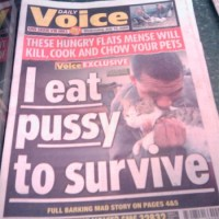 Only In SA - Daily Voices' Sick Headlines