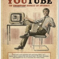 Vintage Style Internet Adverts