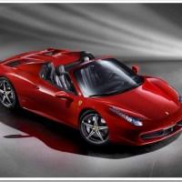 New Ferrari 458 Spider Debuts