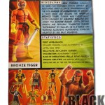 Bronze Tiger Back of Package