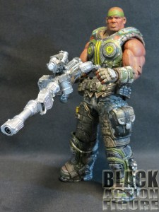 Gears of War Cole with &quot;One-Shot&quot; Weapon