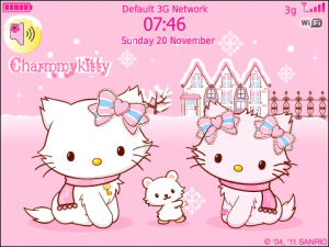 Cute Wallpapers For Blackberry Curve 8520 Hellokitty Blackberry Themes Free Download Blackberry