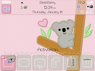 Cute Wallpapers For Blackberry Curve 8520 9300 Themes Blackberry Themes Free Download Blackberry