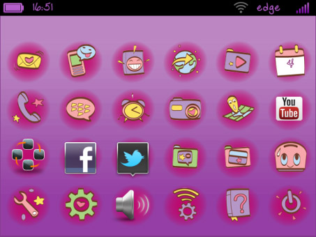 Cute Wallpapers For Blackberry Curve 8520 Free Download Cute Themes Blackberry 8530 Auto Design Tech